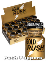 BOX GOLD RUSH - 18 x