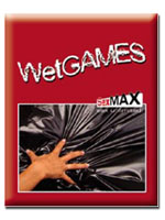 Wet Games Sex-Laken - black 180x220 cm