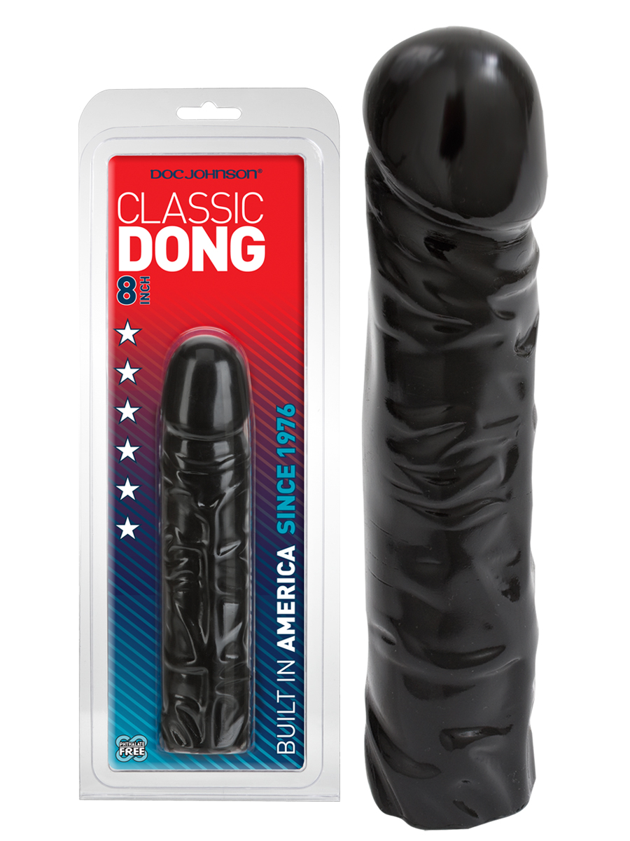 Classic Dong 8 inch - black