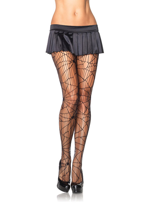 Leg Avenue - Distressed Net Pantyhose