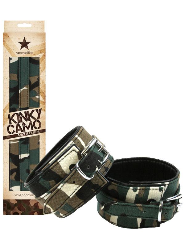 Kinky Camo - Ankle Cuffs