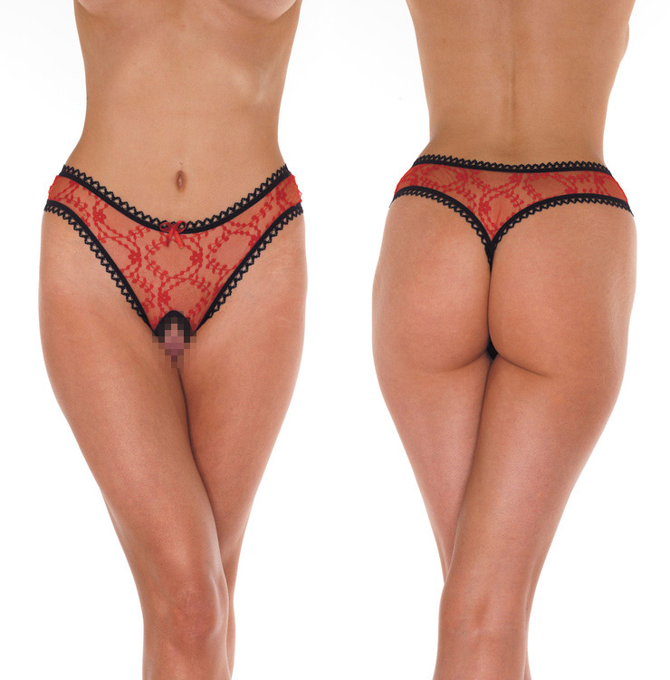 Open G-String - red - One Size