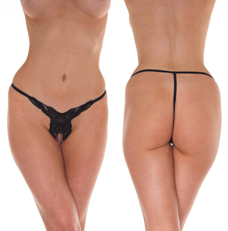 Open G-String - black - One Size