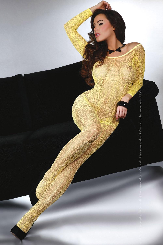 Livia Corsetti - Catsuit Abra Yellow