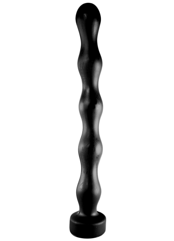 All Black Dildo 70