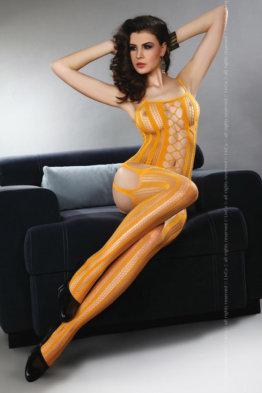 Livia Corsetti - Catsuit Almas Orange
