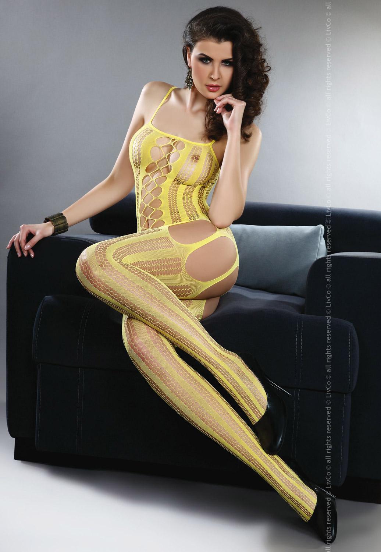 Livia Corsetti - Catsuit Almas Yellow