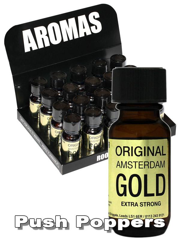 BOX ORIGINAL AMSTERDAM GOLD - 20 x big