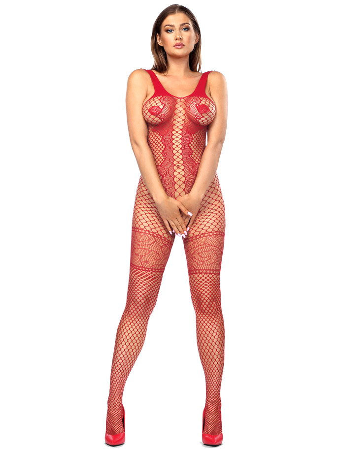 Anais - Bodystocking Bianca Red