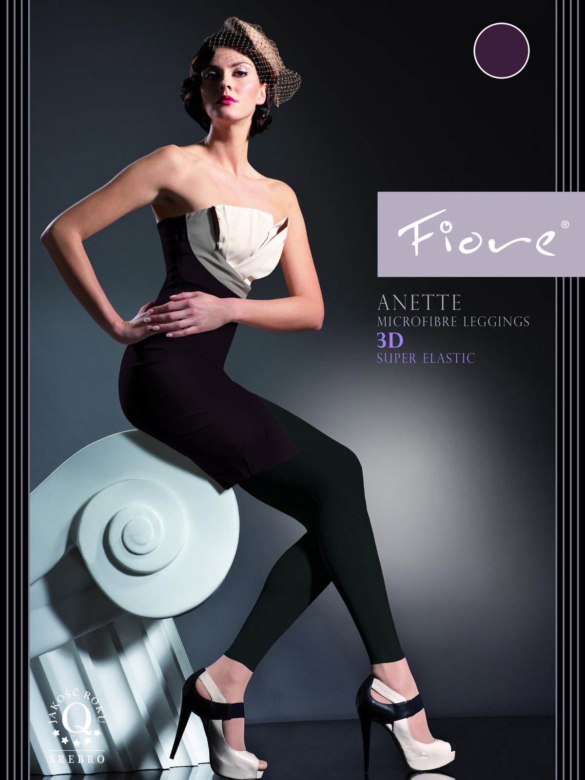 Fiore - Leggings Anette Plum