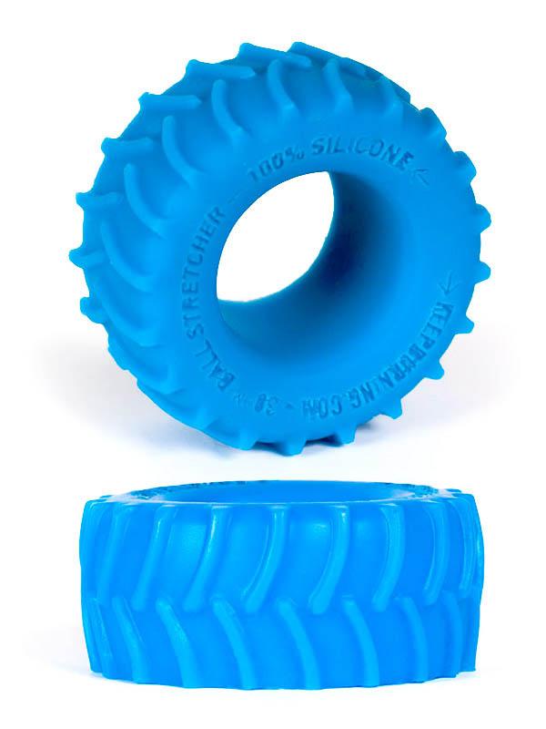 Burning Wheels 100% Silicone Cockring CK02 Blue