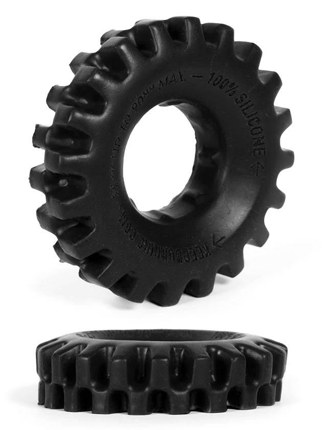 Burning Wheels 100% Silicone Cockring CK03 Black