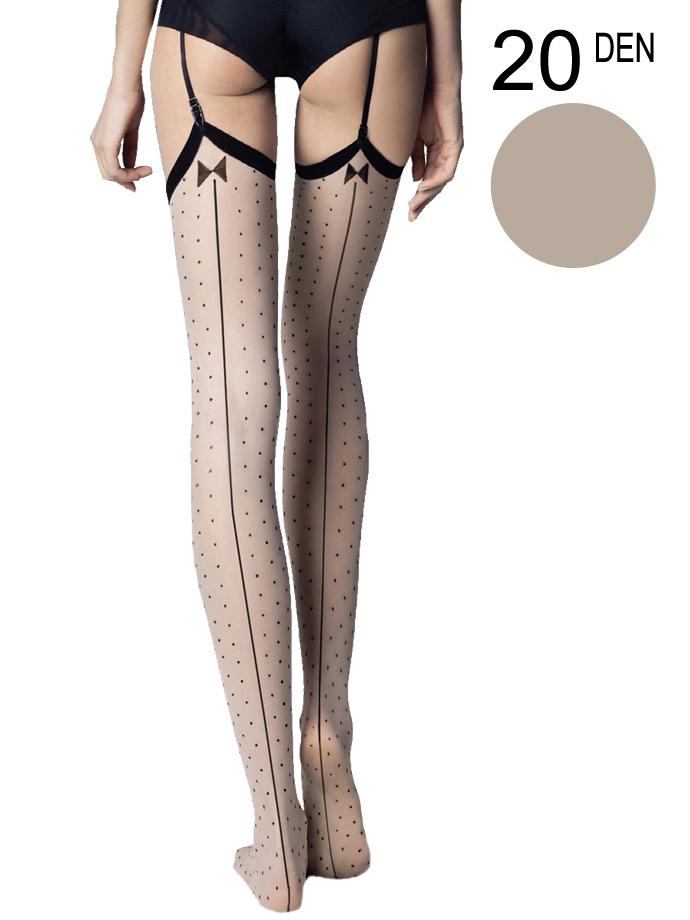 Fiore - Sheer Stockings Gossip Linen