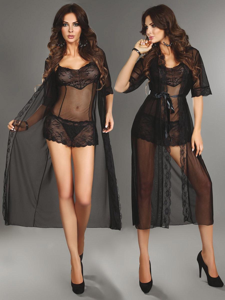 Livia Corsetti - Dressing Gown Fuksja