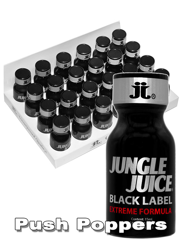 BOX JUNGLE JUICE BLACK LABEL - 24 x medium