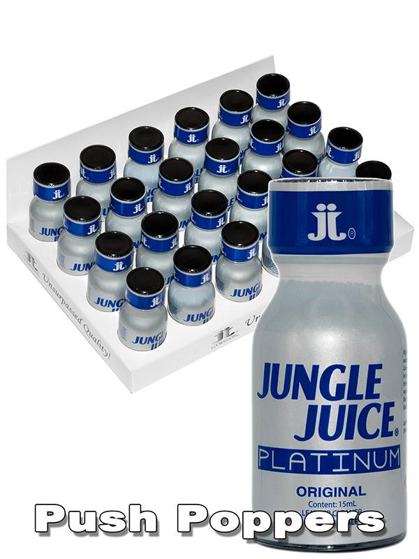 BOX JUNGLE JUICE PLATINUM - 24 x medium