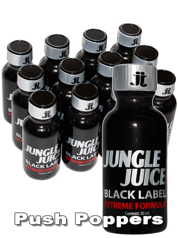 BOX JUNGLE JUICE BLACK LABEL - 12 x big