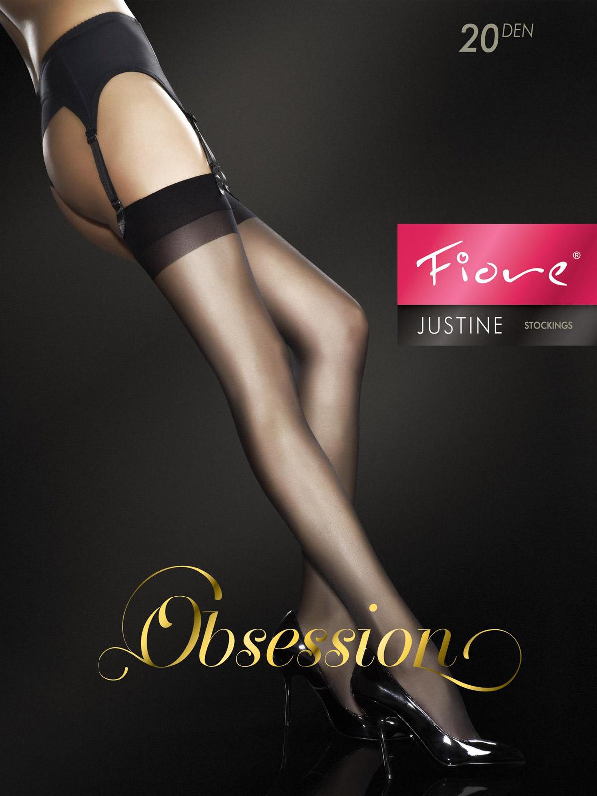 Fiore - Sheer Stockings Justine White