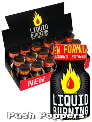 BOX LIQUID BURNING - 18 x small
