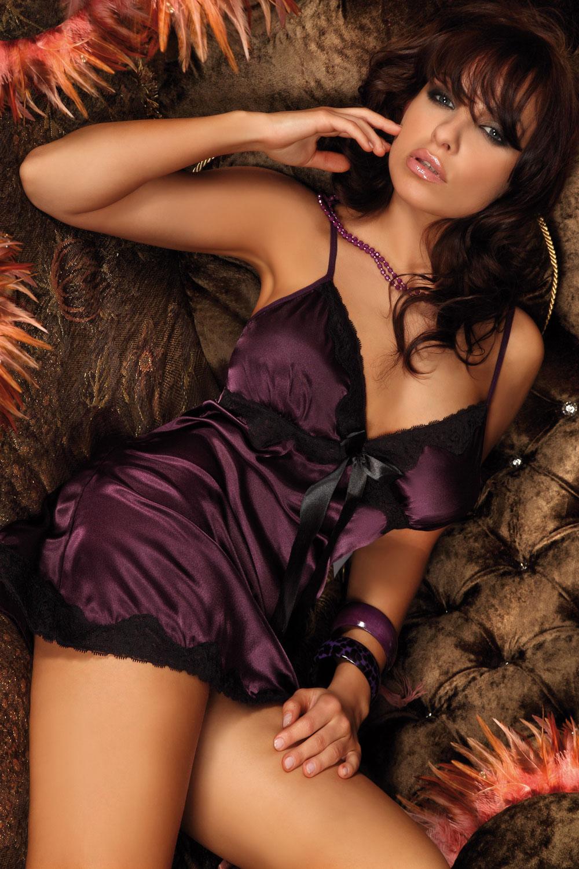Livia Corsetti - Negligee Luna Purple