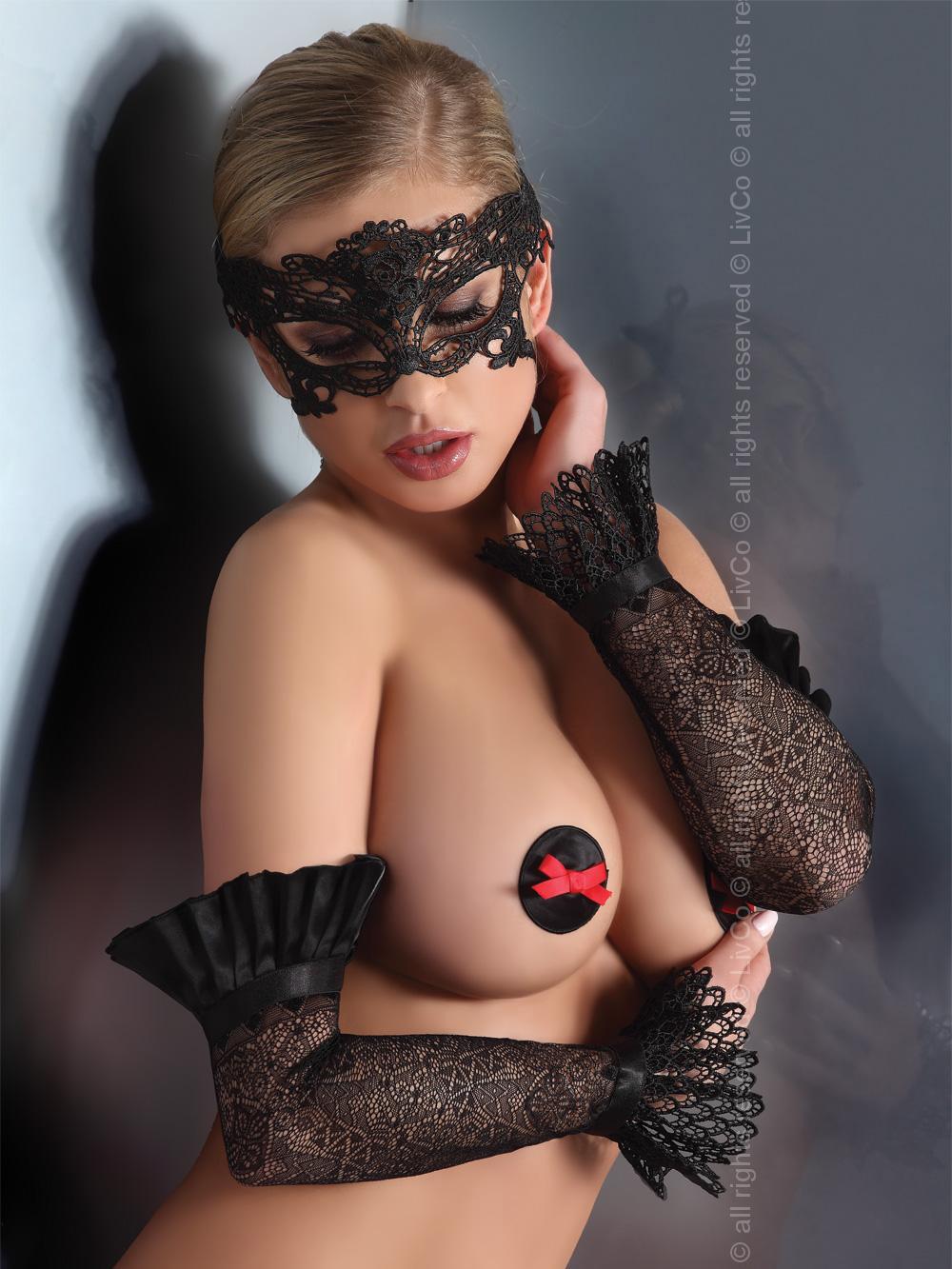 Livia Corsetti - Mask Black Model 4