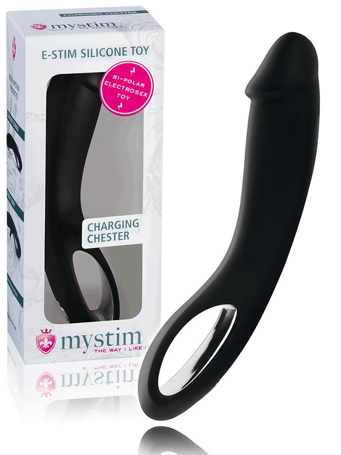 Mystim Charging Chester E-Stim Dildo