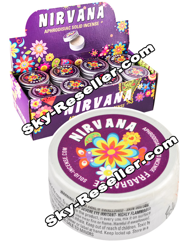 BOX Nirvana Solid small - 24 x Nirvana Solid Poppers small