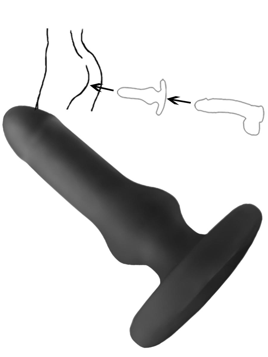 Hump Gear - Fuckable Analplug - black