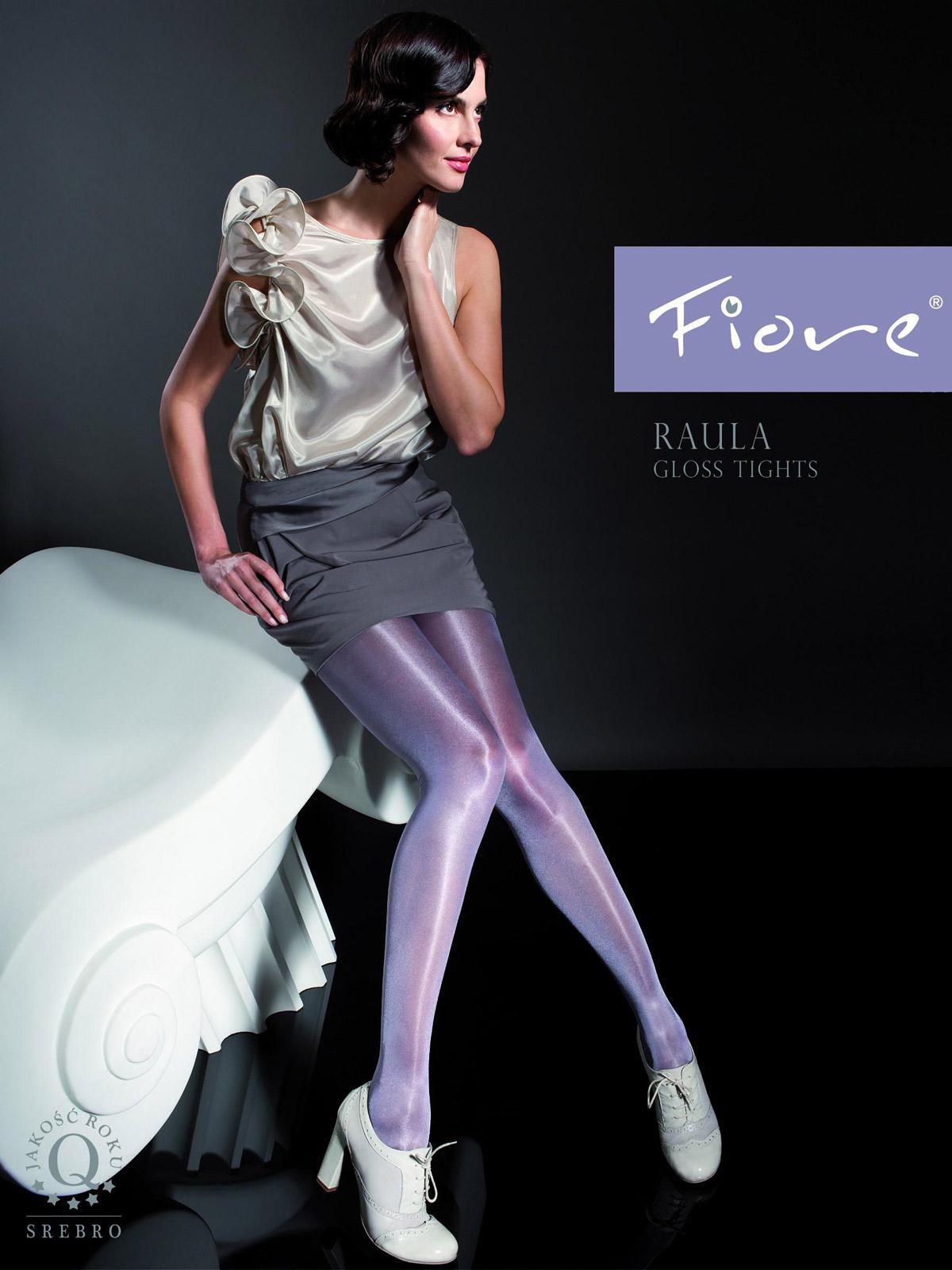 Fiore - Gloss Tights Raula Plum