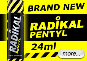 Radikal Pentyl tall bottle